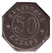 50 Pfennig (Leutkirch) [Oberamtsstadt, Württemberg] – reverse