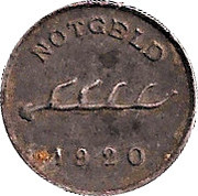 1 Pfennig (Calw) [Stadt, Württemberg] – reverse