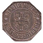 10 Pfennig (Bad Mergentheim) [Stadtgemeinde, Württemberg] – obverse