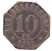 10 Pfennig (Bad Mergentheim) [Stadtgemeinde, Württemberg] – reverse