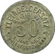 50 Pfennig (Meuselwitz) [Stadt, Sachsen - Altenburg] – reverse
