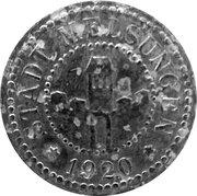 20 Pfennig (Melsungen) [Stadt, Hessen-Nassau] – obverse