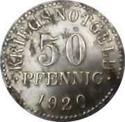 50 Pfennig (Braunschweig) [Herzogtum, Staatsbank] – reverse