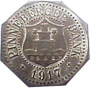 50 Pfennig (Pinneberg) [Private, Schleswig-Holstein, Pinneberger Bank] – obverse