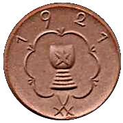 50 Pfennig (Kitzingen) [Stadt, Bayern] – reverse