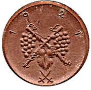 75 Pfennig (Kitzingen) [Stadt, Bayern] – reverse