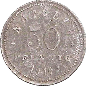 50 Pfennig - Kelheim a. D. – reverse