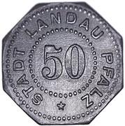 50 Pfennig (Landau) [Stadt, Pfalz] – obverse