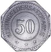 50 Pfennig (Landau) [Stadt, Pfalz] – reverse