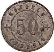 50 Pfennig (Landsberg am Lech) [Stadt, Bayern] – reverse