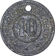10 Pfennig (Sinsheim) [Stadt, Baden] – reverse