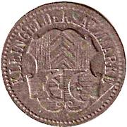 10 Pfennig (Müllheim) [Stadt, Baden] – reverse