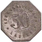 50 Pfennig (Laufen) [Kommunalverband, Bayern] – obverse
