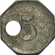 5 Pfennig (Essen) [POW, Rheinprovinz] – reverse