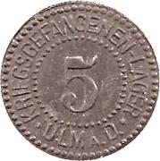 5 Pfennig (Ulm an der Donau) [POW, Württemberg] – obverse