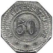 50 Pfennig (Langerfeld) [Private, Rheinprovinz, Alb. & E. Henkels] – reverse