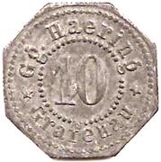 10 Pfennig (Grafenau) [Private, Bayern, Gg Haering] – obverse