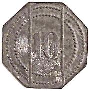 10 Pfennig (Grafenau) [Private, Bayern, Gg Haering] – reverse