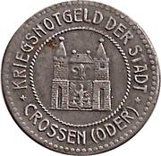 50 Pfennig (Crossen) [Stadt, Brandenburg] – obverse