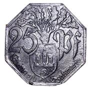 25 Pfennig (Weilburg an der Lahn) [Stadt, Hessen-Nassau] – reverse