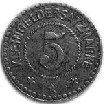 5 Pfennig (Lichtenfels) [Stadt, Bayern] – reverse