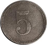 5 Pfennig (Pressath) [Stadt, Bayern] – reverse