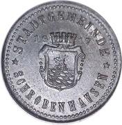 10 Pfennig (Schrobenhausen) [Stadt, Bayern] – obverse