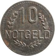 10 Pfennig (Wiesbaden) [Stadt, Hessen-Nassau] – reverse