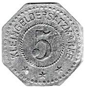 5 Pfennig (Forbach) [Stadt, Lothringen] – reverse
