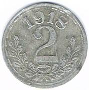 2 Pfennig (Frankenthal) [Stadt, Pfalz] – reverse