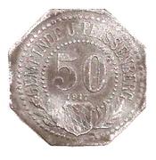 50 Pfennig (Unter Peissenberg) [Stadt, Bayern] – obverse