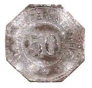 50 Pfennig (Unter Peissenberg) [Stadt, Bayern] – reverse