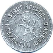 50 Pfennig (Rodach) [Stadt, Sachsen-Coburg] – obverse