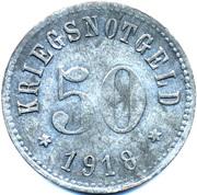 50 Pfennig (Rodach) [Stadt, Sachsen-Coburg] – reverse