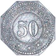 50 Pfennig (Sagan) [Stadt, Schlesien] – reverse