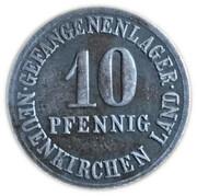 10 Pfennig - Neuenkirchen (Gefangenenlager) – obverse