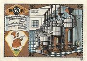 50 Pfennig (Pößneck; Industry Series) – reverse