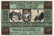 50 Pfennig (Ohrdruf; Bonifatius Series) -  obverse
