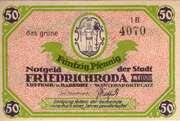 50 Pfennig (Friedrichroda) – obverse