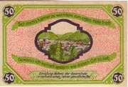 50 Pfennig (Friedrichroda) – reverse