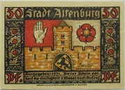 50 Pfennig (Altenburg; Prinzenraub Series) – obverse