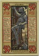 50 Pfennig (Altenburg; Prinzenraub Series) – reverse