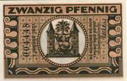 20 Pfennig (Ilmenau; orange issue) – reverse