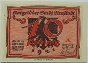 10 Pfennig (Arnstadt; Caricature Series - Issue 1) – obverse
