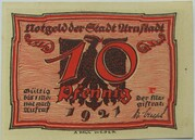 10 Pfennig (Arnstadt; Caricature Series - Issue 2) – obverse