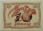 10 Pfennig (Arnstadt; Caricature Series - Issue 2) – reverse