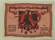 10 Pfennig (Arnstadt; Caricature Series - Issue 5) – obverse