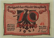 10 Pfennig (Arnstadt; Caricature Series - Issue 6) – obverse