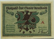 25 Pfennig (Arnstadt; Notables and Sights Series - Issue 1 - Bach) – obverse