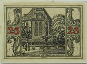 25 Pfennig (Arnstadt; Notables and Sights Series - Issue 2 - Bonifatiuskirche) – reverse